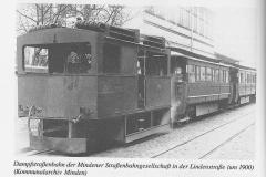 Dampf-Eisenbahn